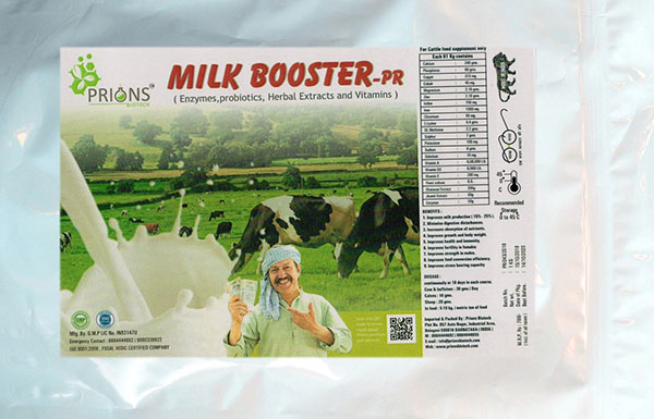 Milk Booster - Herbal Extracts and Vitamins