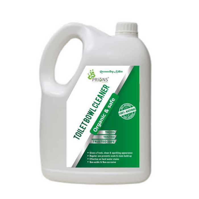 Toilet Bowl Cleaner - Organic & Safe